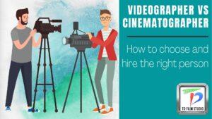 Videographer vs cinematographer